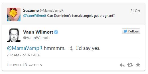Angels Pregnant