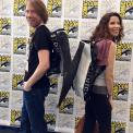 At SDCC '15 with swag - tweeted by @BillBrownMusic