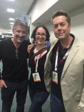 At SDCC 2015 - tweeted by @WilmottNClemens