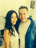 Saying goodbye to Vaun - tweeted by @Roxanne_Mckee