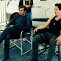 Hanging out on set - tweeted by @VaunWilmott