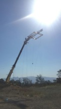 Flying crane for Gabriel - posted by @CarlBeukes