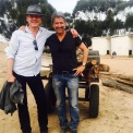 Anthony Head and Deran Sarafian on set - posted by @DeranSarafian